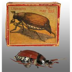 Tin Litho May Bug Wind-Up Toy.