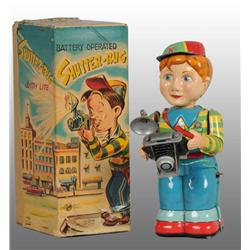 Tin Shutterbug Battery-Operated Toy.