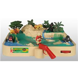 Plastic Hubley Jungle Hunt Battery Operated Game.