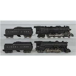 Lot of 2: Lionel Train Engines & Tenders.