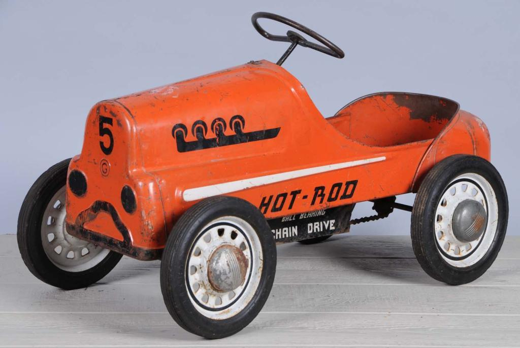 Pressed Steel Garton Hot Rod Pedal Car