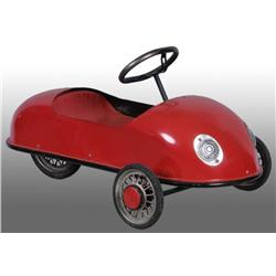 Pressed Steel European 3-Wheeled Pedal Car.