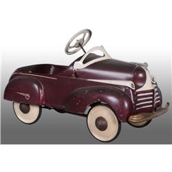 Pressed Steel Steelcraft Chrysler Pedal Car.