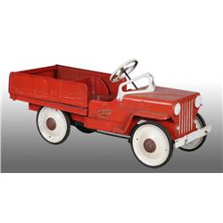 Pressed Steel Big Boy Dump Truck Pedal Car.