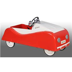 Pressed Steel European Pedal Car.