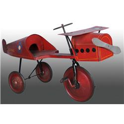 Wooden & Metal US Mail Pedal Plane.