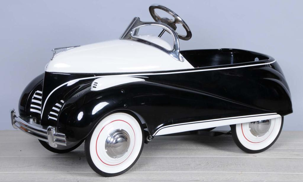 Pressed Steel Steelcraft Lincoln Zephyr Pedal Car