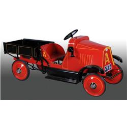 Pressed Steel 2-1/2-Ton Dump Truck Pedal Car.
