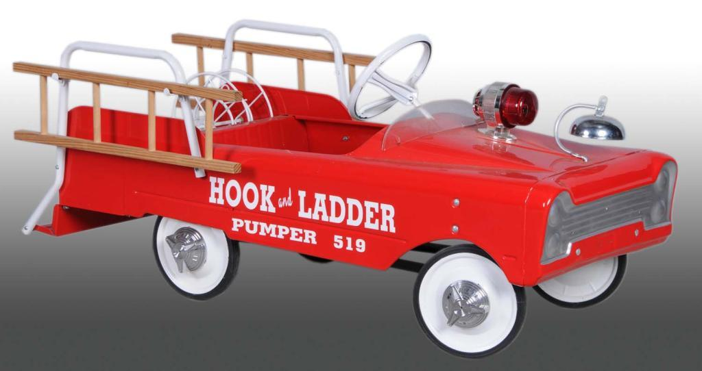 Pressed Steel AMF Fire Truck Pedal Car