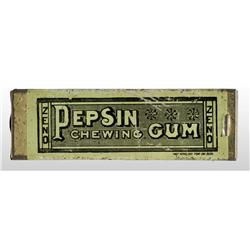 Zeno Slide-Top Pepsin Chewing Gum Tin.