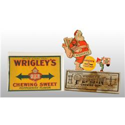 Lot of 5: Assorted Wrigley's Gum Items.