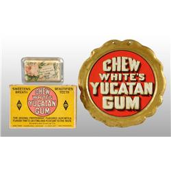 Lot of 3: White's Chewing Gum Items.