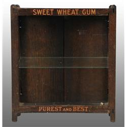 Sweet Wheat Gum Cabinet.