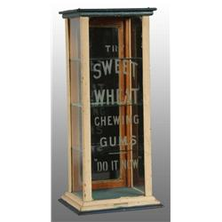 Sweet Wheat Chewing Gum Display Case.