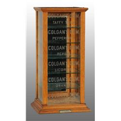 Colgan's Gum Display Case.