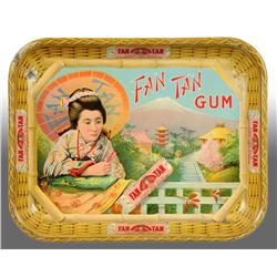 Fan Tan Gum Tray.