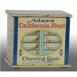 Adams California Fruit Gum Tin.