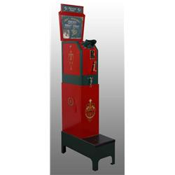 Mutoscope Coin Operated Arcade Machine.