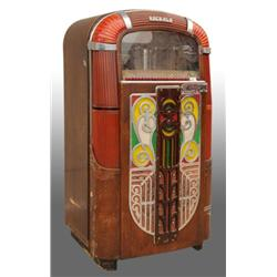 Rock-Ola 78-RPM Juke Box.