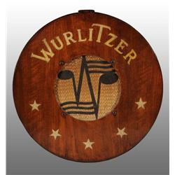 Model #4008  Wooden Wurlitzer Wall Mount Speaker.