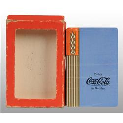 coca cola blue deck of playing cards. Black Bedroom Furniture Sets. Home Design Ideas