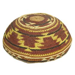 Karok Basketry Hat