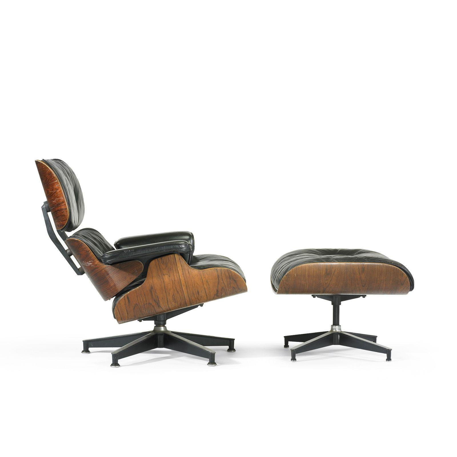 Charles And Ray Eames 670 Lounge Chair And Ottoman