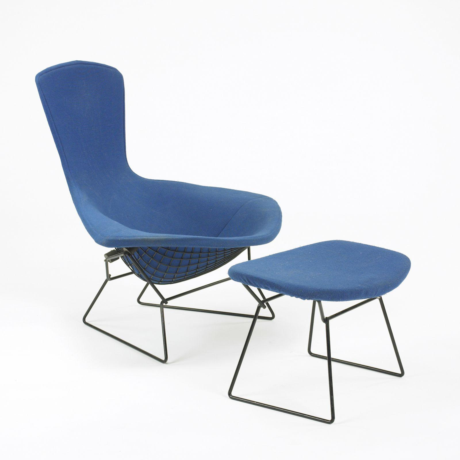 sc 1 st  iCollector.com & Harry Bertoia Bird chair and ottoman