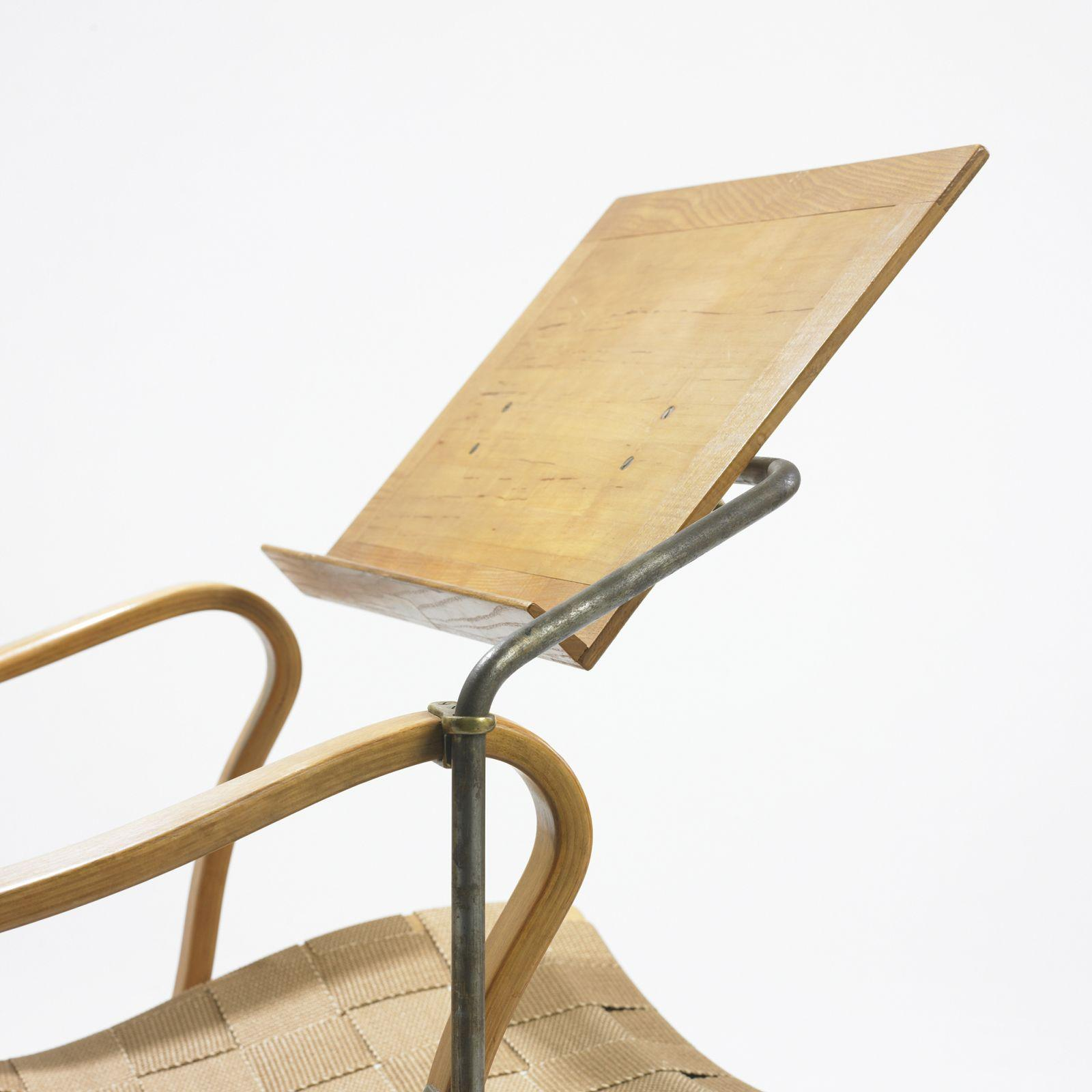 Bruno Mathsson Eva chair with reading stand