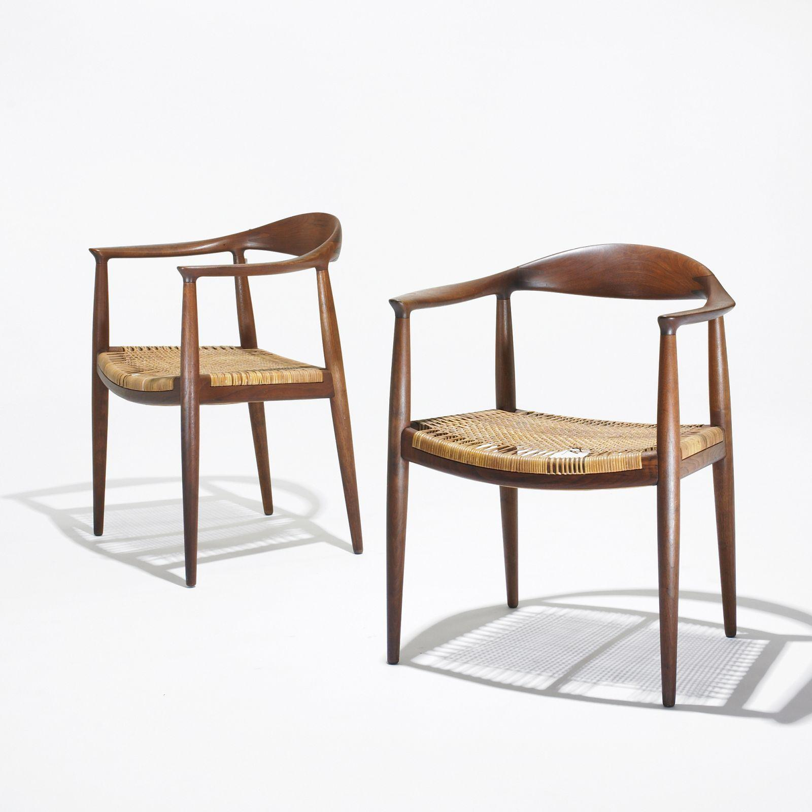 Hans Wegner The Chair, pair