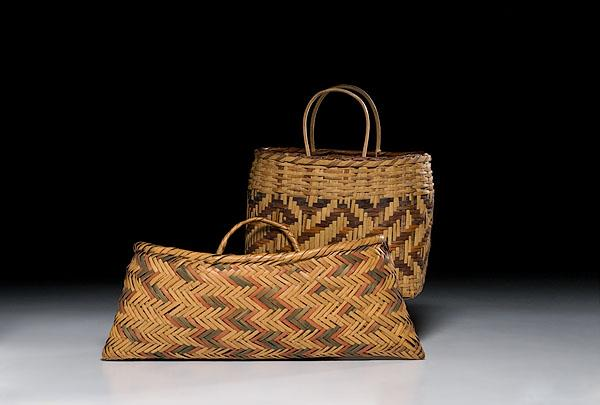 Image 1 Southeastern Baskets Cherokee With Indian Arts And Crafts Board Label