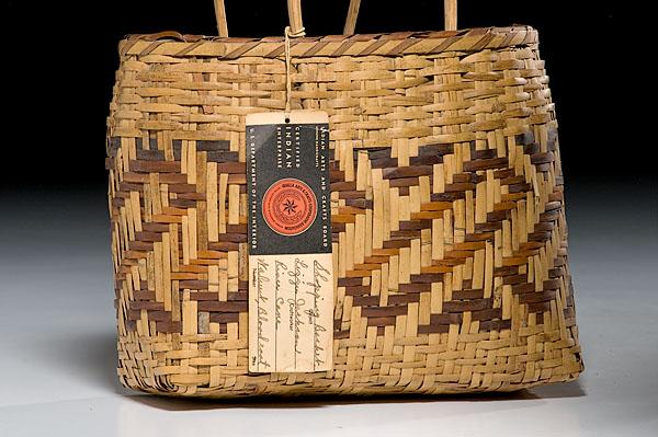 Image 2 Southeastern Baskets Cherokee With Indian Arts And Crafts Board Label