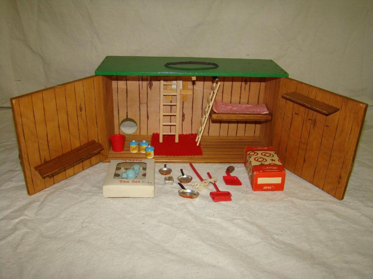 2 Fao Schwarz City Mouse Playsets W Steiff Mouse