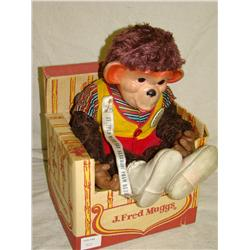 Ideal J. Fred Muggs Monkey Doll w/Box