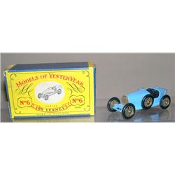 Supercharged Bugatti Type #35 Y-6 New Model in Baby Blue BPW