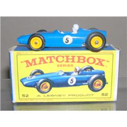 BRM Racing Car #52 BPW in Blue w/ driver