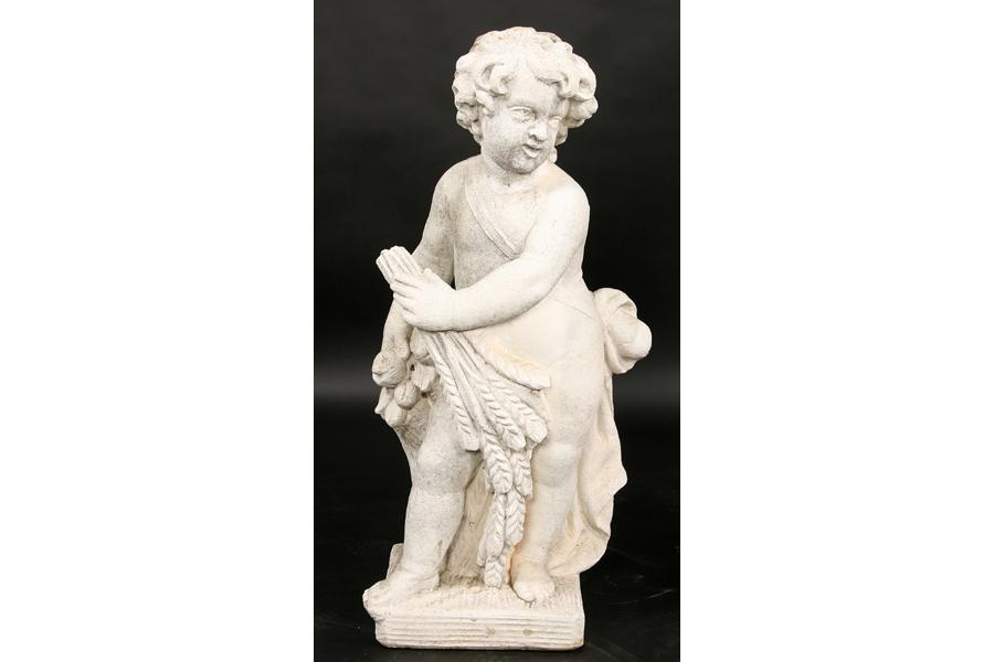 Cast Stone Garden Statues 2 cast stone garden statues putti four seasons image 4 2 cast stone garden statues putti four seasons workwithnaturefo
