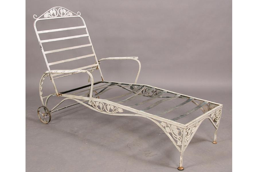 Vintage Wrought Iron Mixed Patio Set Couch Lounge .
