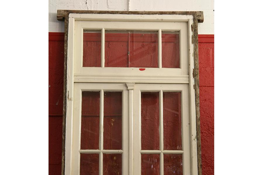 Antique pair french doors transom beveled glass image 3 antique pair french doors transom beveled glass planetlyrics Gallery