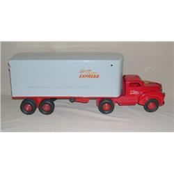 Lincoln Toys Express Truck & Trailer--made in Canada