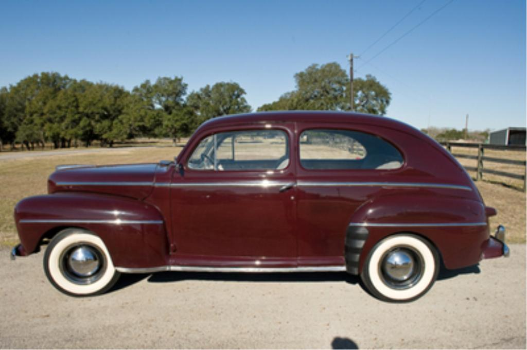 1947 Ford Deluxe V8 Two Door Sedan