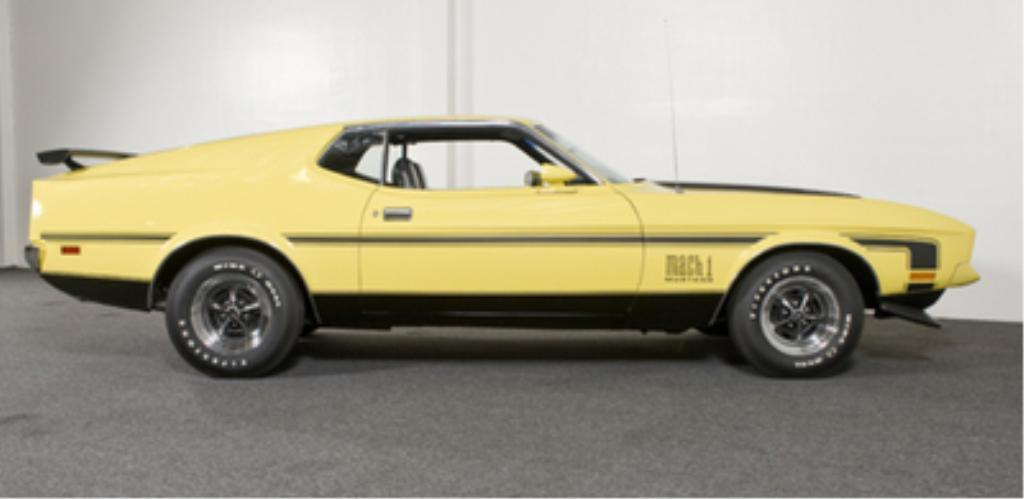 Ford Mach 2 2 1971 Ford Mustang Mach