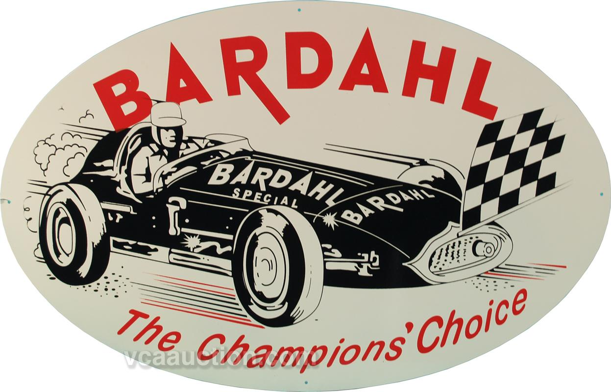 bardahl the champions 39 choice oval tin sign 24 x 1. Black Bedroom Furniture Sets. Home Design Ideas