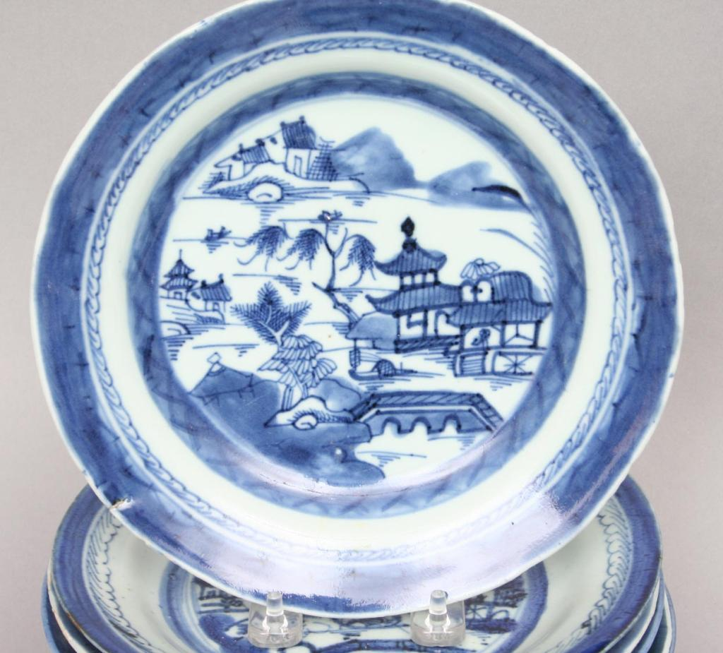 Chinese Export Porcelain & Canton ware