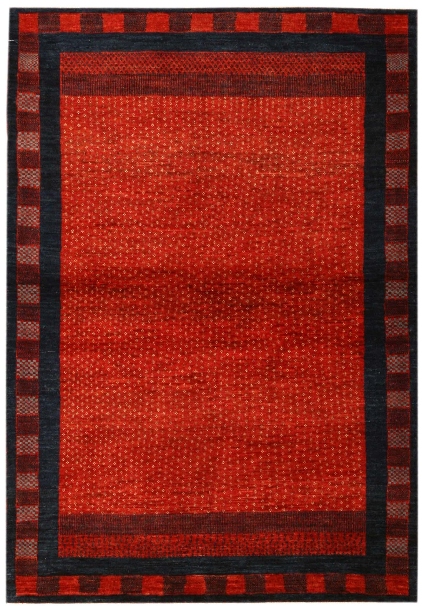 Gabbeh Design Persian Rug Carpet 15641