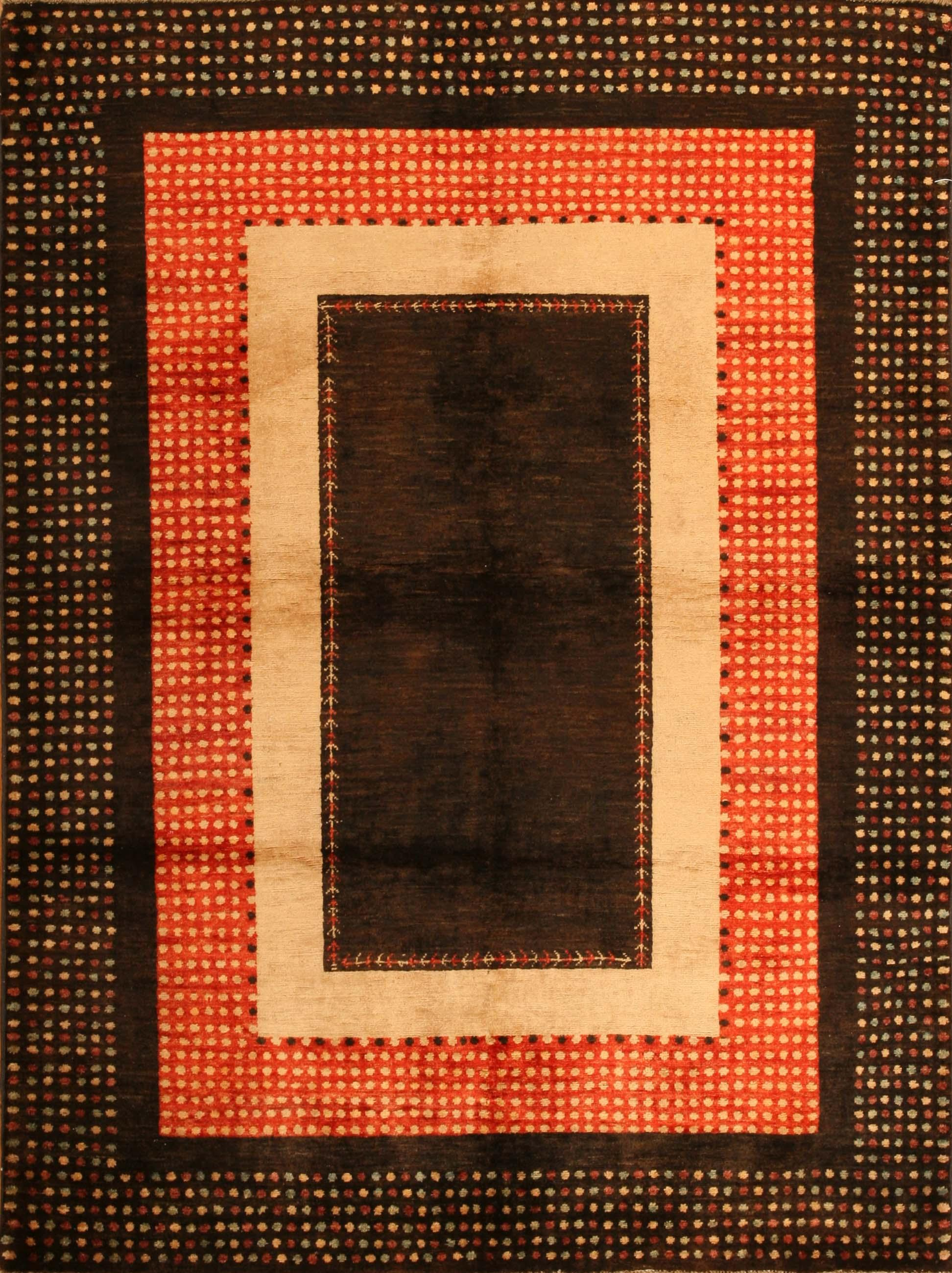 Gabbeh Design Pakistan Rug Carpet 16517