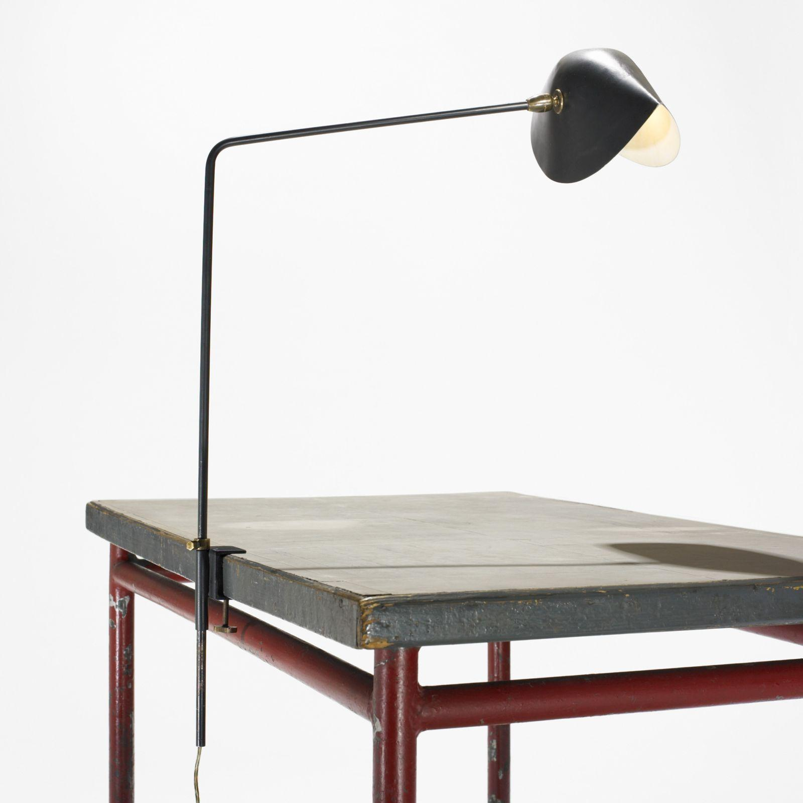 Serge Mouille Agrafee Table Lamp