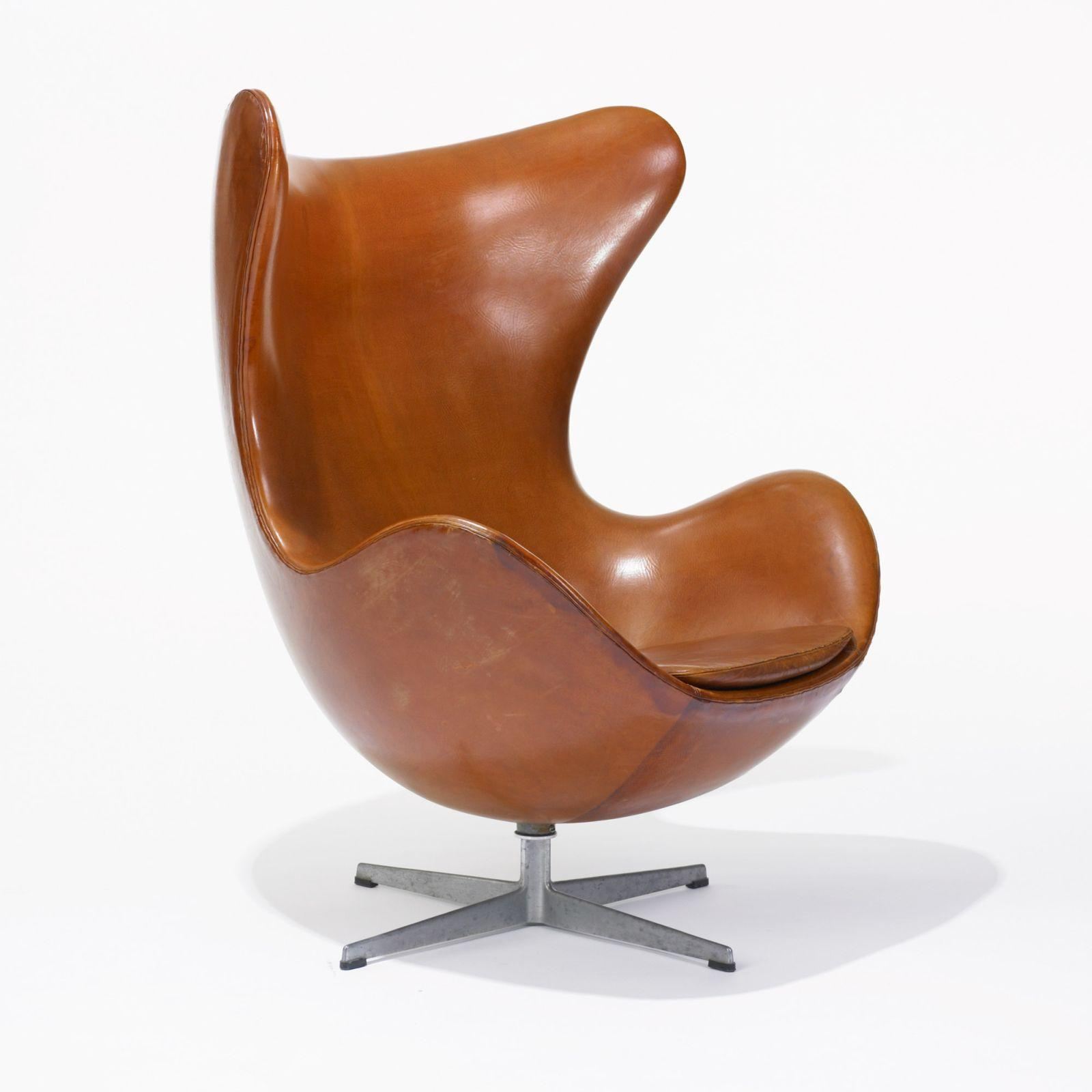 Arne jacobsen egg chair leather - Arne Jacobsen Egg Chair Leather 2
