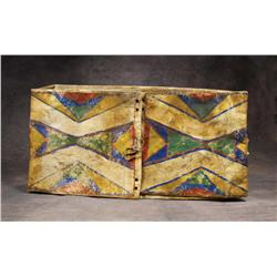 Northern Plains Polychrome Parfleche Envelope