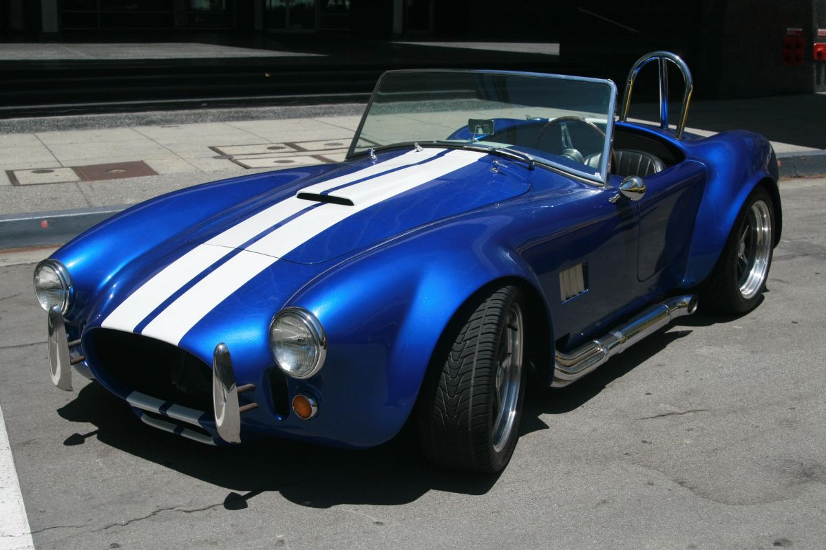 1965 ford shelby cobra replica manufactured by shell valley loading zoom